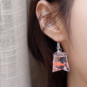 Other - Fun Goldfish Earrings